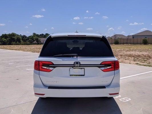 2021 Honda Odyssey Elite In Weatherford Tx Forth Worth Tx Honda Odyssey Honda Of Weatherford 5fnrl6h97mb004994